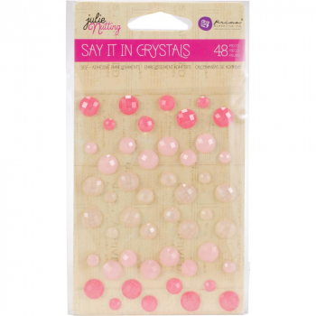 Prima Marketing - Say it in Crystals Adhesive Assorted Dots