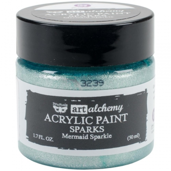 *NEU Prima Marketing - Finnabair Acrylic Paint Mermaid Sparkle 50ml