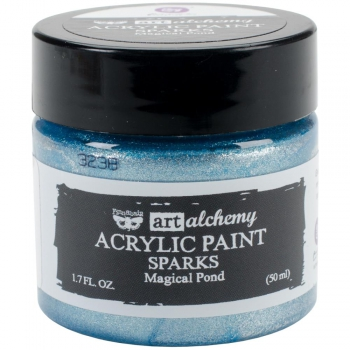 *NEU Prima Marketing - Finnabair Acrylic Paint Sparks Magical Pond 50ml