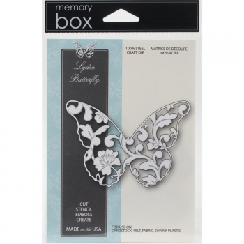 Memory Box - Stanzschablone Lydia Butterfly