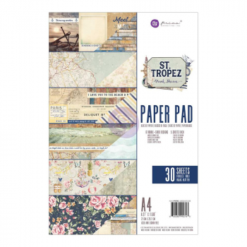 Prima Marketing - St. Tropez Paper Pad A4 30 Blatt