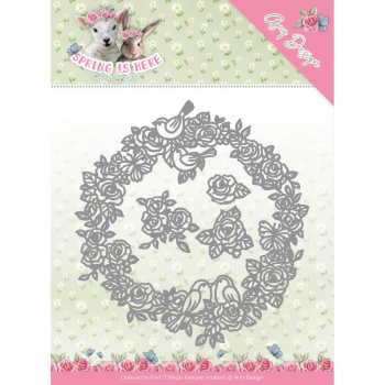 Amy Design - Stanzschablonenset Spring Is Here Circle of Roses