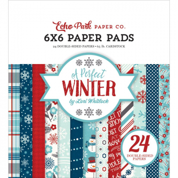 Echo Park Paper - Papierblock A Perfect Winter Paper Pad 6x6""