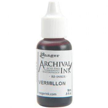 Ranger - Archival Reinker Vermillion 18ml