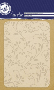 Aurelie Prägeschablone Blossoming Vine Embossing Folder 10.5x15.0cm