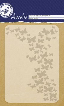 Aurelie Prägeschablone Butterfly Dreams Embossing Folder 10.5x15.0cm