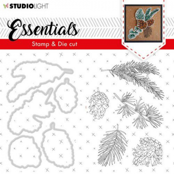 Studio Light Clearstempel und Stanzen Essentials Nr. 49