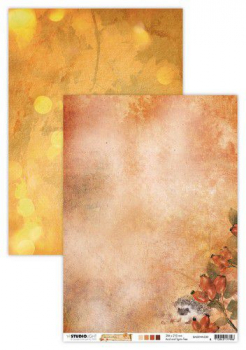 Studio Light Scrapbookingpapier Wonderful Autumn Nr. 330 A4