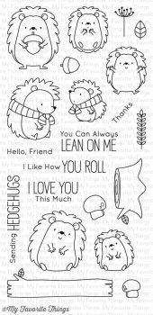 My Favorite Things Clearstempelset Happy Hedgehogs Clear Stamps