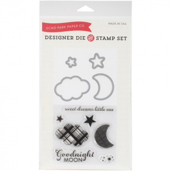 Echo Park Paper - Goodnight Moon Die & Stamp Combo Set