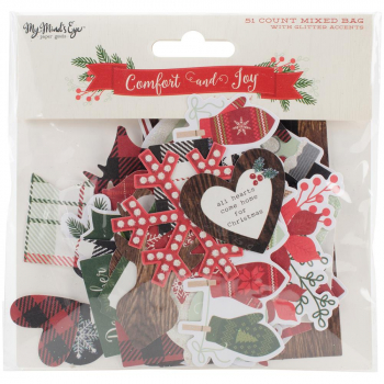 My Mind's Eye - Comfort & Joy Mixed Bag Die-Cuts