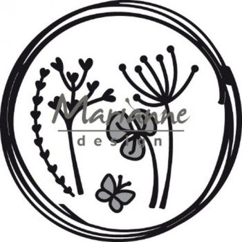 Marianne Design Stanzschablonenset Craftable Doodle Circle