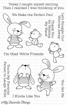 My Favorite Things - Clear Stamps Snuggle Bunnies