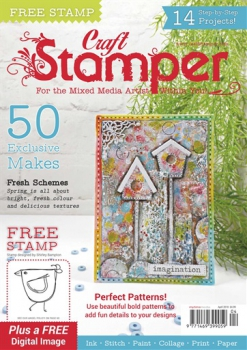 Craft Stamper Magazin April 2018