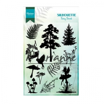 Marianne Design - Clearstempelset Fairy Forest Silhouettes