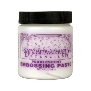 Dreamweaver - Stencils Pearlescent Embossing Paste 119ml