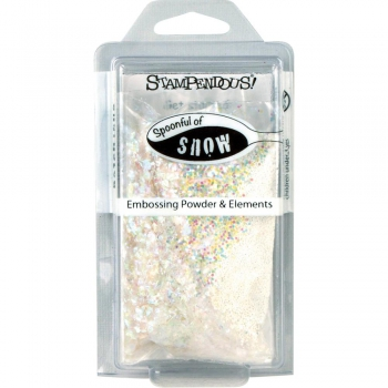 Stampendous - Spoonful of snow Embossing Powder & Elements