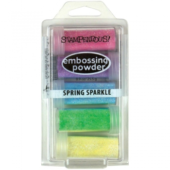 *NEU Stampendous - Embossing Powder Kit Spring Sparkle