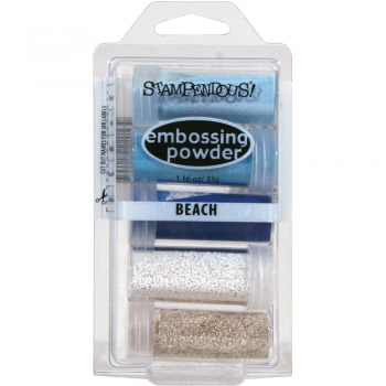 Stampendous - Embossing Powder Kit Beach