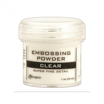 Ranger - Embossing Powder Super Fine Detail Clear