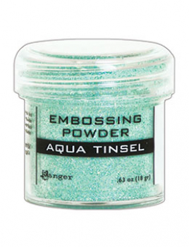 Ranger Embossingpulver Aqua Tinsel Embossing Powder