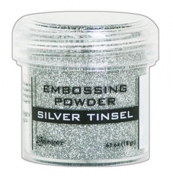 Ranger Embossingpulver Silver Tinsel Embossing Powder
