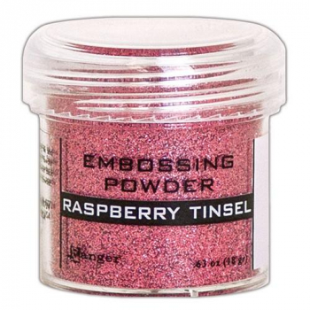 Ranger Embossingpulver Raspberry Tinsel Embossing Powder