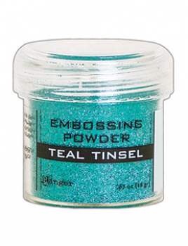 Ranger Embossingpulver Teal Tinsel Embossing Powder
