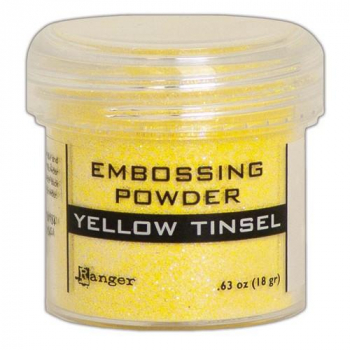 Ranger - Embossingpulver Yellow Tinsel Embossing Powder