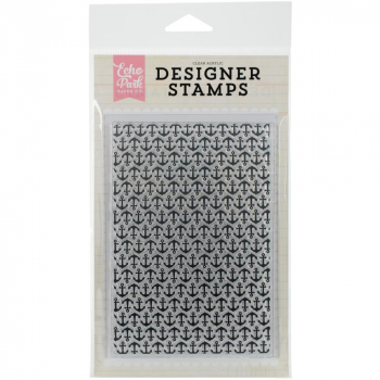 Echo Park Paper - Clear Stamp Anchors Background