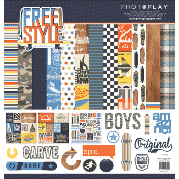 *NEU Photo Play Paper - Freestyle Collection Pack 12x12""