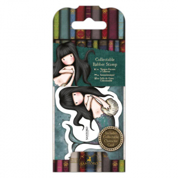 Docrafts - Santoro Gorjuss Mini Rubber Stamp Awashed