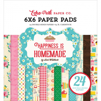 Echo Park Paper Papierblock Happiness is homemade Paper Pad 6x6""