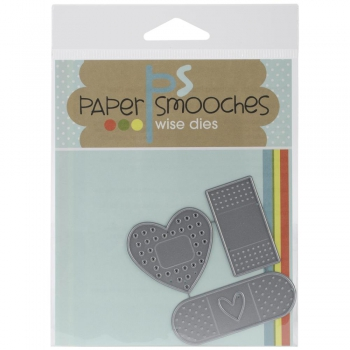 Paper Smooches - Stanzschablone Set Band Aids