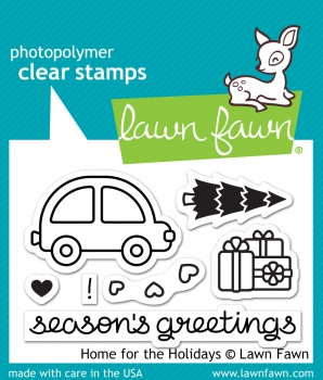 Lawn Fawn - Clear Stamps Home for the holidays