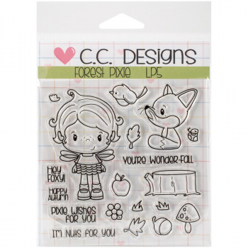 C.C. Designs - Clear Stamps Forest Pixie