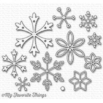 My Favorite Things - Stanzschablonenset Die-namics Layered Snowflakes