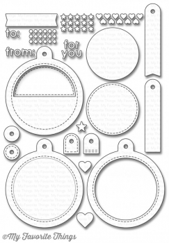My Favorite Things - Die-namics Tag Builder Blueprints 6 Dies
