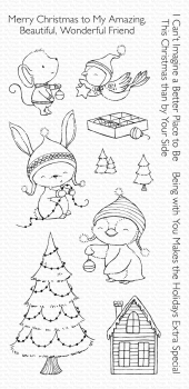 My Favorite Things Clearstempel und Stanzen im Set Combo Merry Wishes