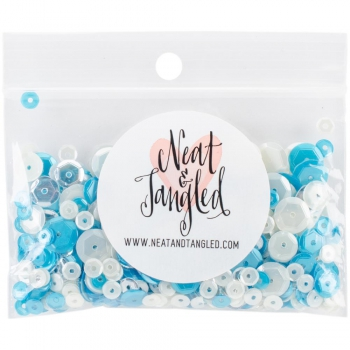Neat & Tangled Ocean Waves Sequin Mix 9g