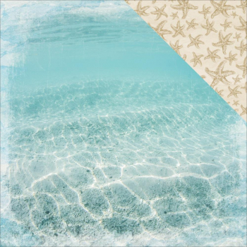Kaisercraft - Coastal Escape Scrapbooking Papier Underwater 12x12""
