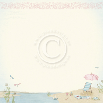 Pion Design - Scrapbookingpapier Seaside Stories Summertime 12x12""