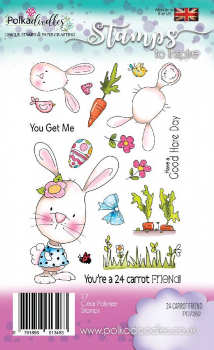 Polkadoodles - Clearstempelset Carrot Friend Clear Stamps