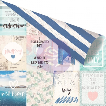 Prima Marketing - Scrapbookingpapier Santorini Moments 12x12""