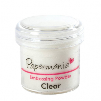 Papermania - Embossingpulver Clear Embossing Powder
