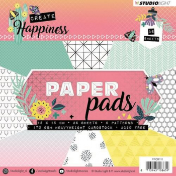 Studio Light Papierblock Create Happiness Paper Pads Nr. 111