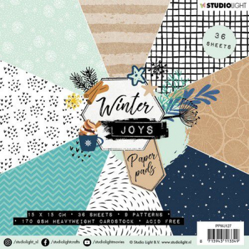 Studio Light Papierblock Winter Joys Paper Pads Nr. 127