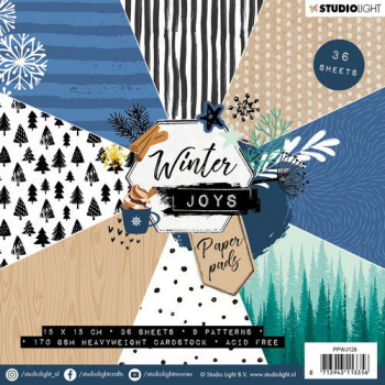Studio Light Papierblock Winter Joys Paper Pads Nr. 128