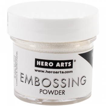 Hero Arts - Embossing Powder White Puff