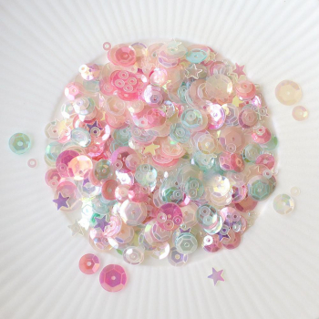 Little Things from Lucy's Cards Paillettenmix Pastel Paradise